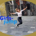 Der Girlsjump – high to the sky